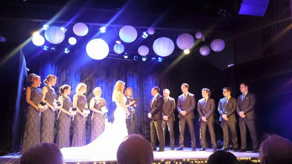 stage ceremony